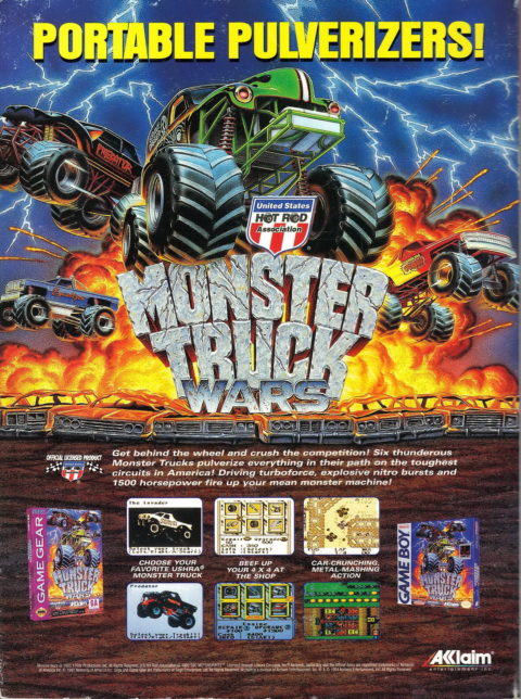 Monster Truck Wars