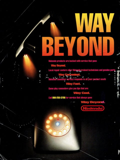 Nintendo Power – Way Beyond Ad