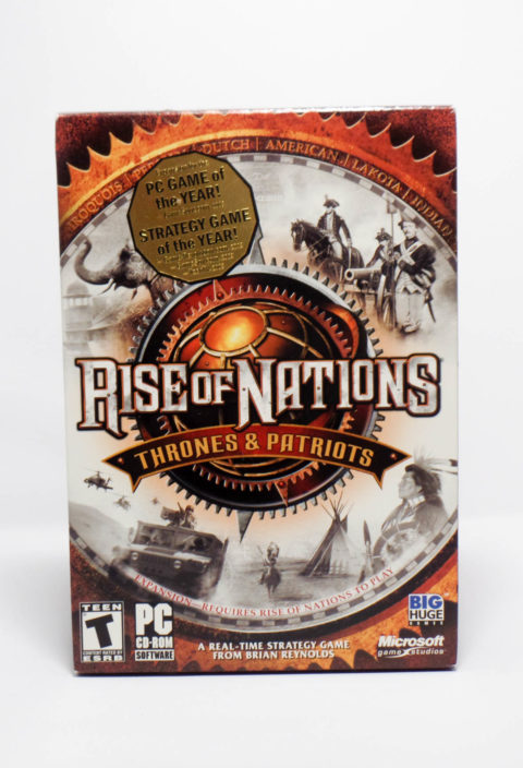 Rise of Nations – Thrones and Patriots