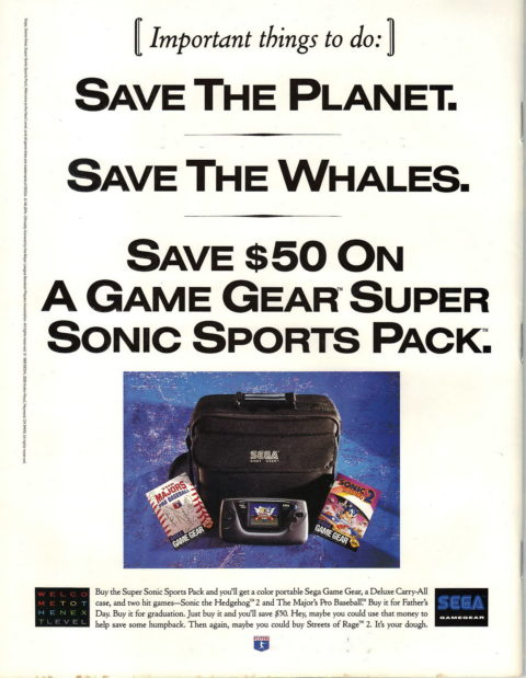 Sega Sports Pack