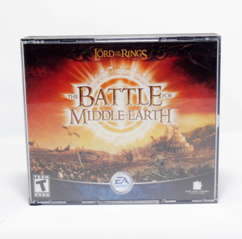 The Battle For Middle Earth – Jewel Case
