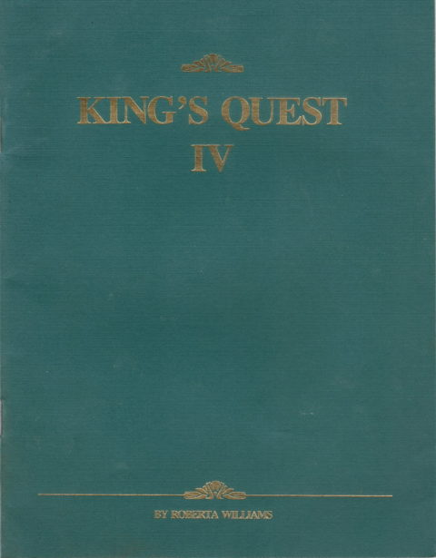 Kings Quest IV – Booklet