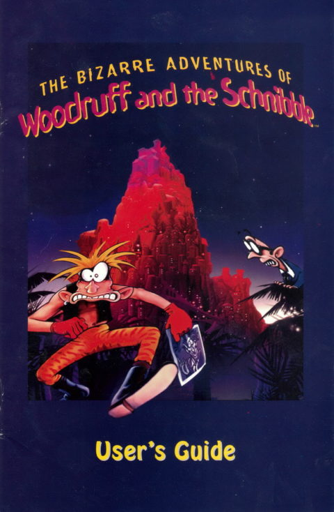 The Bizarre Adventures of Woodruff and the Schnibble – Manual