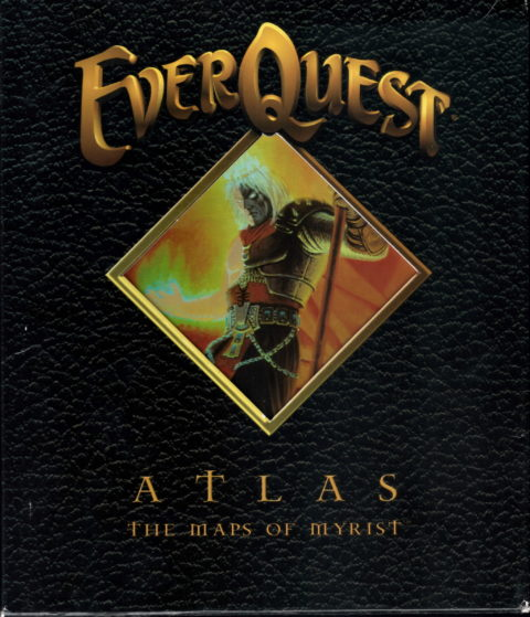 Everquest – Atlas – The Maps of Myrist – Front