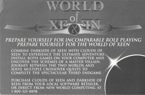 Magic and Magic – World of Xeen – Combine Card