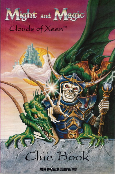 Might and Magic – Clouds of Xeen – Cluebook