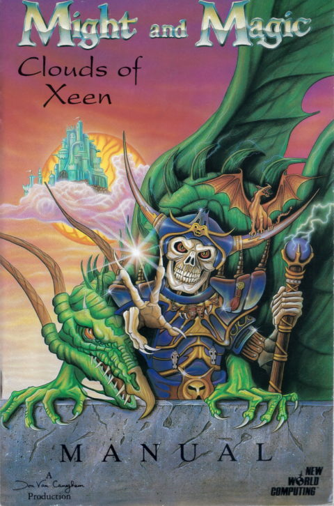 Might and Magic – Clouds of Xeen – Manual