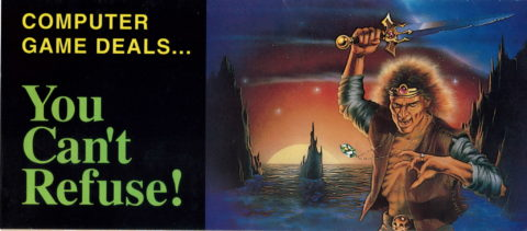 Might and Magic III – New World Computing Insert