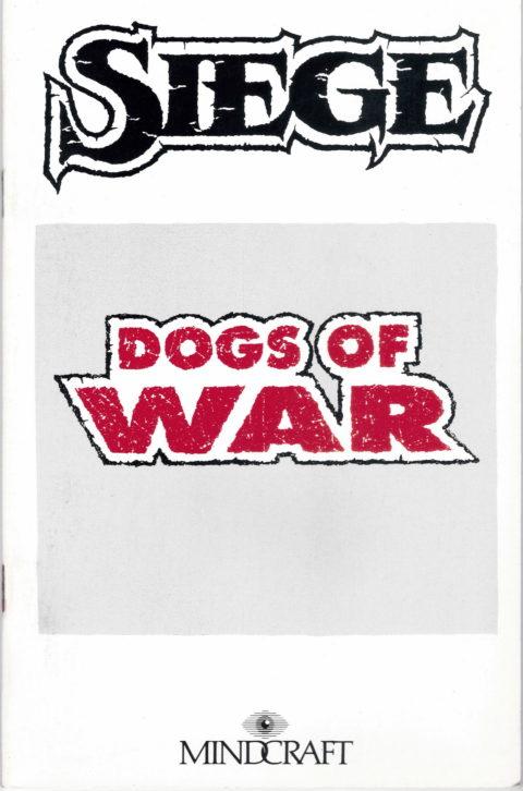 Siege – Dogs of War – Manual