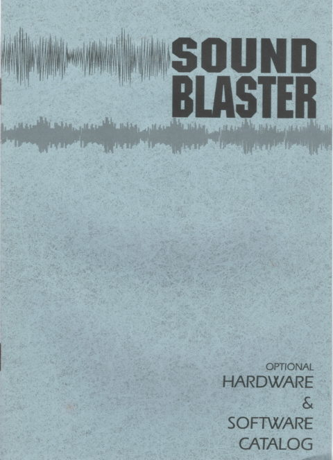 SoundBlaster – Hardware and Software Catalog
