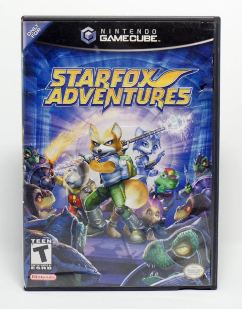 Starfox Adventures (Gamecube)