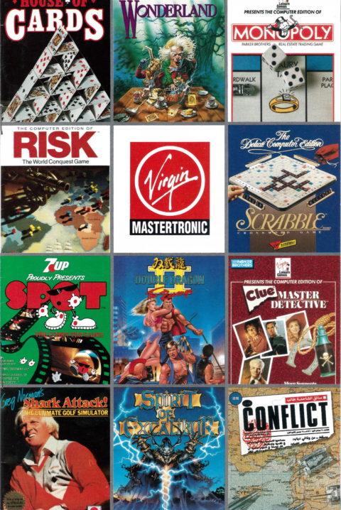Virgin Mastertronic Catalog