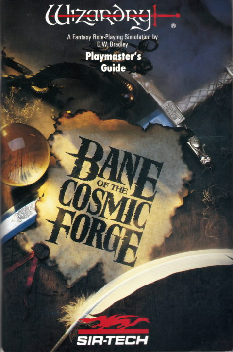 Wizardry – Bane of the Cosmic Forge – Manual