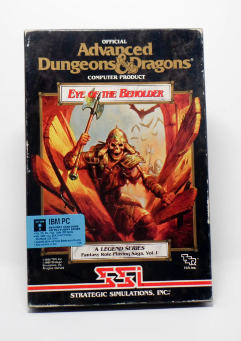 Advanced D&D – Eye of the Beholder (IBM PC)