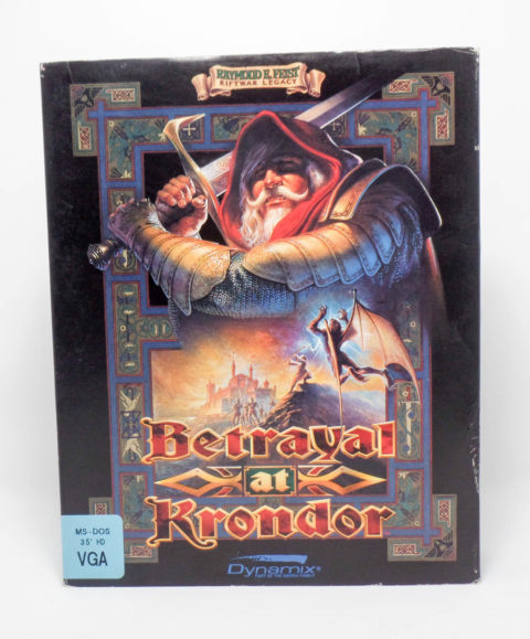 Betrayal at Krondor (MS-DOS 3.5)