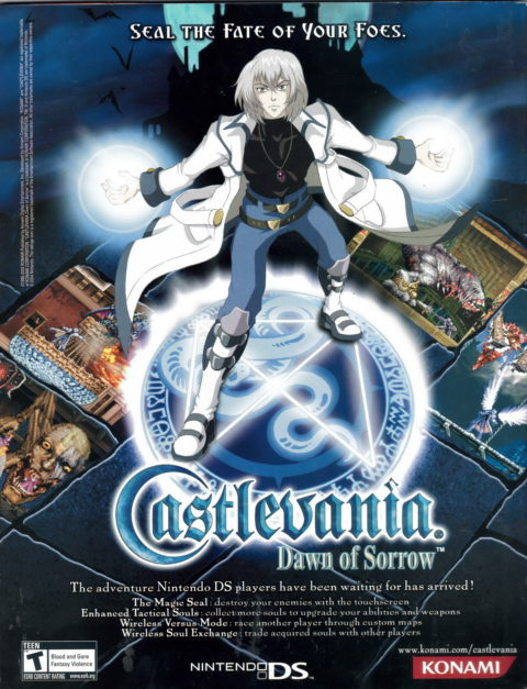 Castlevania – Dawn of Sorrow – Ad