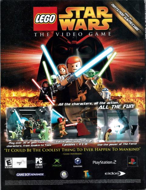 Lego Star Wars Advertisement