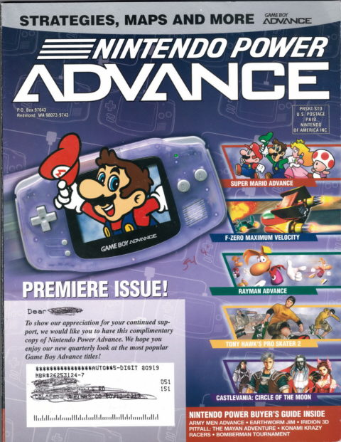 Nintendo Power Advance – Vol 1