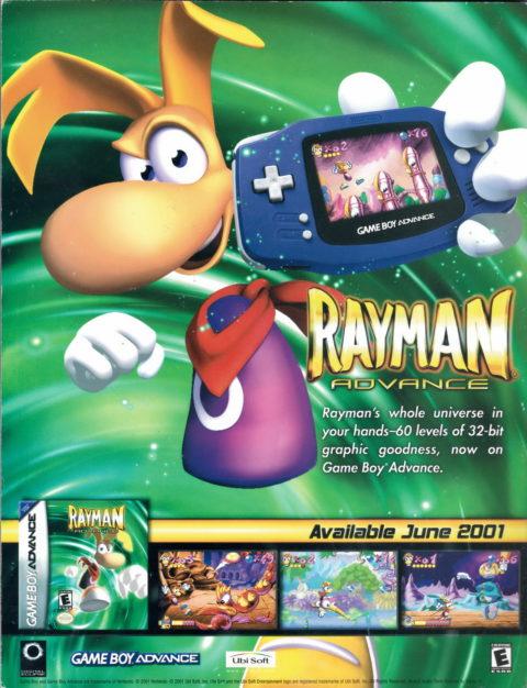 Rayman Advance – Ad