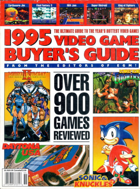 1995 Video Game Buyers Guide