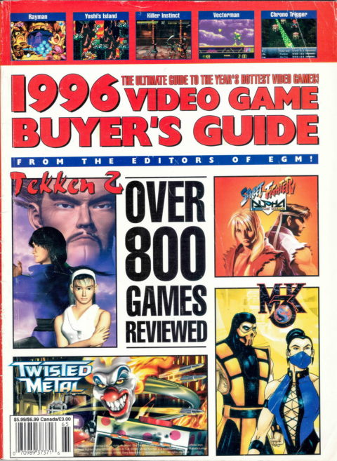 1996 Video Game Buyers Guide