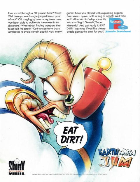 Earthworm Jim – Ad