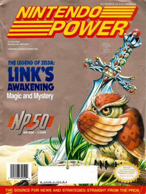 Nintendo Power – Volume 50