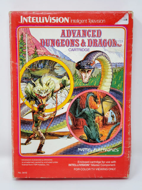 Advanced Dungeons and Dragons – Box