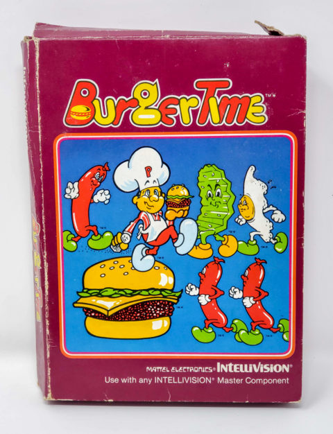 Burgertime – Box