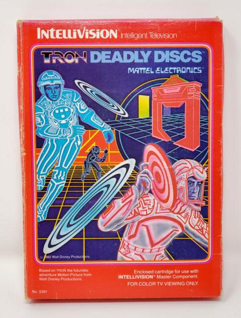 Tron Deadly Discs – Box